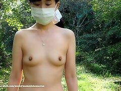 Japanese exhibitionist wife public nude walk - The Secret    VLOG    Episode 33