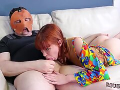 Blonde brutal anal and  teen rough Hatefuck my hippie asshole