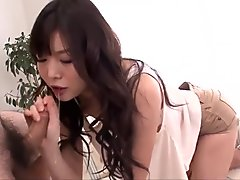 Super exclusive cock sucking special by hot Megumi Shino - More at javhd.net