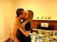 SPOILED TEEN WHITE GIRL BRITNEY LIGHT FUCKS ASIAN FEVER DJ JAMES BANG