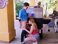 Awesome 4th Of July Threesome - Aspen Rae