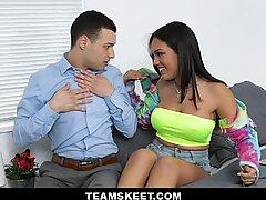 TeenPies -Virgin Chick Gets Creampie From Nosy Neighbor