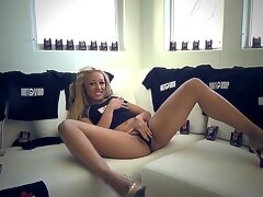 Young Nympho has Insane Orgasm on Webcam