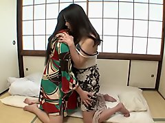 Amazing Japanese girl in Crazy HD, Lesbian JAV scene