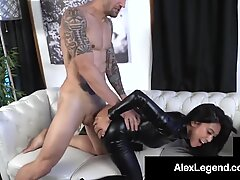 Young Asian Ember Snow Cosplays & Gets A Fat Cock To Fuck!