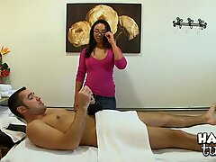This chap is really to have a joy massage and sex