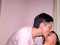 Japanese ladyboy rimmed before analfucked
