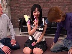 Nozomi Hazuki swallows cock after sex - More at 69avs.com