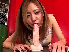 Casting for porn goes wild for sleazy Mio Kuraki