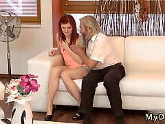 Two old women and man young hd Unexpected experience with an older gentleman