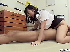 Japanese honey Michiru Ogawa had anal sex, uncensored