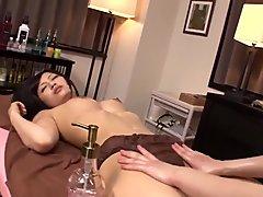 Fantasy massage sex between lesbians in hot Asian scenes - More at Japanesemamas com