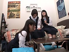Hottest Japanese girl in Crazy Teens, HD JAV clip
