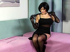 WANKZ- Gutlina Gets Her Hairy Pussy Stuffed