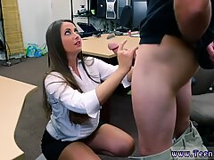 Horny chubby teen first time PawnShop Confession!